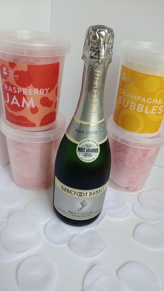 Fun Sparkling Wine Cotton Candy Recipes