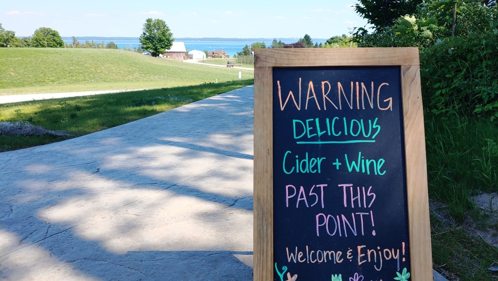 Best Places to Drink Wine and Cider in Traverse City Michigan